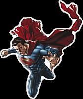 Superman Character Lensed Emblem
