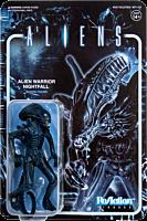 """Aliens - Alien Warrior Nightfall Blue ReAction 3.75"""" Action Figure"""