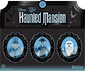 """The Haunted Mansion - Hitchhiking Ghosts ReAction 3.75"""" Action Figure 3-Pack (2020 SDCC Exclusive)"""