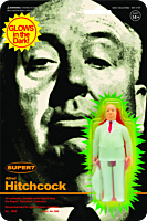 """Alfred Hitchcock - Alfred Hitchcock Monster Glow in the Dark ReAction 3.75"""" Action Figure"""