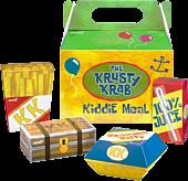 """SpongeBob SquarePants - The Krusty Krab Kiddie Meal ReAction 3.75"""" Action Figure 4-Pack (2020 NYCC Exclusive)"""