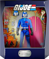 "G.I. Joe: A Real American Hero - Cobra Commander Ultimates! 7"" Action Figure"
