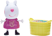 """Peppa Pig - Suzy Sheep & Toy Basket 2"""" Action Figure 