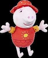 "Peppa Pig | Holiday Peppa Talking 8"" Plush | Popcultcha | Cultcha Kids"