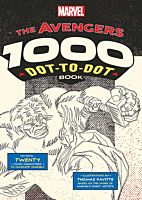 The Avengers - 1000 Dot-to-Dot Book Paperback