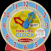 Melissa and Doug | Turn and Tell Clock | Popcultcha | Cultcha Kids