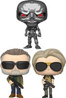 Terminator: Dark Fate - Come With Me If You Want To Pop! Vinyl Bundle (Set of 3).