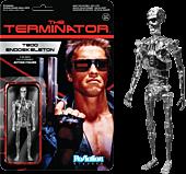 """Terminator - Chrome T-800 ReAction 3.75"""" Action Figure"""