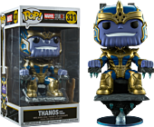 Marvel Studios The First Ten Years Thanos on Throne 8 inch Deluxe Funko Pop Vinyl Figure