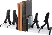 The Beatles - Abbey Road Silhouettes Sculpted Resin Bookends