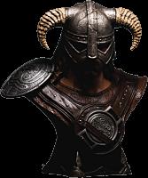The Elder Scrolls V: Skyrim - Dragonborn 1:1 Scale Life-Size Bust Main Image