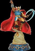 "Thor - Marvel Milestones Armored Thor 21"" Statue Main Image"