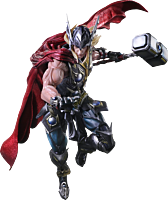 "Thor - Thor Variant Play Arts Kai 11"" Action Figure"