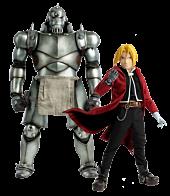 Fullmetal Alchemist - Alphonse & Edward Elric 1/6th Scale Action Figure 2-Pack