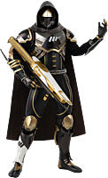 Destiny 2 - Hunter Sovereign Golden Trace Shader 1/6th Scale Action Figure