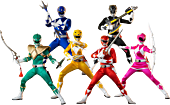 Mighty Morphin Power Rangers - Power Rangers 1/6th Scale Action Figure 6-Pack