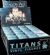 "Dragon Age - Heroes of Thedas 3"" Mini Vinyl Titans Figure Blind Box (Display of 20)"