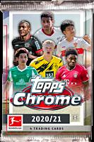 Bundesliga Football League (Soccer) - 2020/21 Topps Chrome Trading Cards Pack (4 Cards)