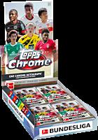 Bundesliga Football League (Soccer) - 2020/21 Topps Chrome Trading Cards Box (Display of 18)