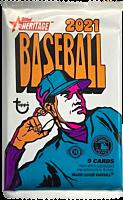 MLB Baseball - 2021 Topps Heritage Trading Cards Hobby Pack (9 Cards)
