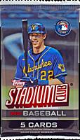 MLB Baseball - 2021 Topps Stadium Club Trading Cards Hobby Pack (8 Cards)