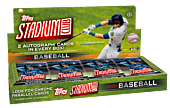 MLB Baseball - 2021 Topps Stadium Club Trading Cards Hobby Box (Display of 16)