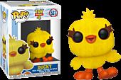 Toy Story 4 - Toy Story Ducky Flocked Funko Pop! Vinyl Figure.