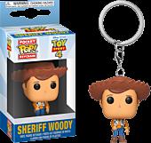 Toy Story 4 - Sheriff Woody Pocket Pop! Vinyl Keychain by Funko.