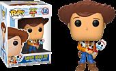 Toy Story 4 - Toy Story Sheriff Woody holding Forky Funko Pop! Vinyl Figure.