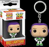 Toy Story - Buzz Lightyear Funko Pocket Pop! Vinyl Keychain.