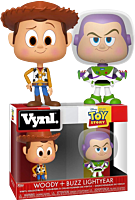 Toy Story - Woody & Buzz Lightyear Vynl. Vinyl Figure 2-Pack.