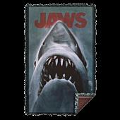 Jaws - Shark Woven Tapestry Blanket / Picnic Rug