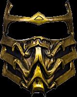 Mortal Kombat - Scorpion Deluxe Mask Replica