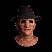 A Nightmare on Elm Street 2: Freddy's Revenge - Freddy Krueger Deluxe Mask & Fedora Hat