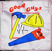 Child's Play 2 - Good Guys Doll Construction Bib Life-Size Prop Replica Accessory