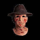 A Nightmare on Elm Street - Freddy Krueger Deluxe Mask & Fedora Hat