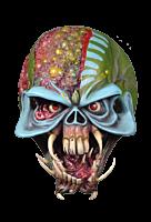 Iron Maiden - Final Frontier Eddie Mask
