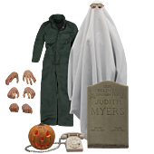 Halloween (1978) - Michael Myers 1/6th Scale Action Figure Accessory Pack
