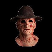 A Nightmare on Elm Street 4: The Dream Master - Freddy Krueger Dream Master Deluxe Mask & Fedora Hat