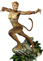"""Wonder Woman - Cheetah Super Powers Collection 10"""" Maquette Statue"""