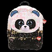 Beanie Boos - Bamboo the Panda Bear Flippable Backpack