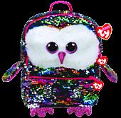 Beanie Boos - Owen the Owl Flippable Backpack