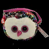 """Beanie Boos - Owen the Owl 8"""" Flippable Handbag"""