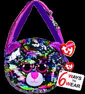 Beanie Boos - Slush the Husky Dog Flippable Handbag