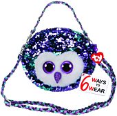 Beanie Boos - Moonlight the Owl Flippable Handbag