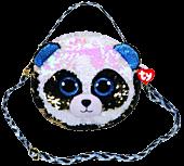 Beanie Boos - Bamboo the Panda Bear Flippable Handbag