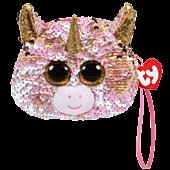 "Beanie Boos - Fantasia the Unicorn 5"" Flippable Coin Purse"