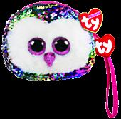 "Beanie Boos - Owen the Owl 5"" Flippable Coin Purse"