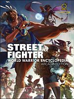 Street Fighter - World Warrior Encylopedia Arcade Edition Hardcover Book