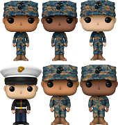 United States Marine Corps - The Few. The Proud. The Pop! Vinyl Bundle (Set of 6) (Pops! with Purpose)